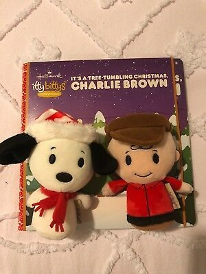 Hallmark It's A Tree Tumbling Christmas Charlie Brown Itty Bitty Storybook