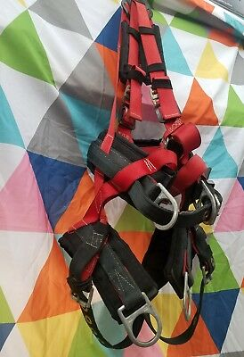 """Elk River Eagle Tower Harness Xl  310 Lbs #66614 5"""" Padded Seat Strap & Backpad"""