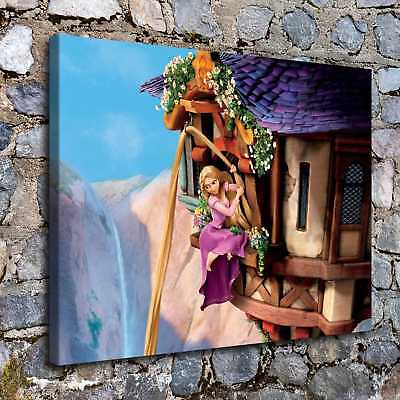 """12""""x16""""Disney Tangled Posters HD Canvas Prints Home Room Decor Wall art picture"""
