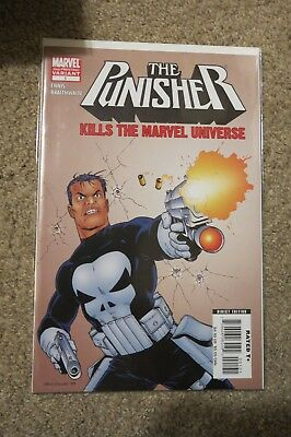 The Punisher Kills The Marvel Universe Very Rare 2Nd Printing Marvel Comics