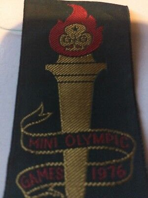 Girl Guides / Scouts Mini Olympic Games 1976