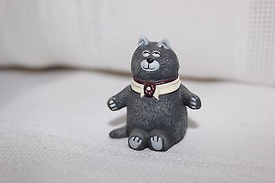 Vintage Hallmark Ornaments Merry Miniatures Purrsonality Cat 1987 Calvin Tag