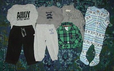Baby Boy Mixed Lot Fall Winter Clothes 6-9 Months Carter's Gymboree Circo