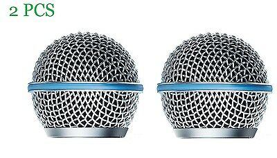 2 PCS Microphone Grille Replacement for Shure Beta58A Microphone Grille RK265G
