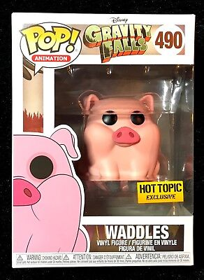 Funko Pop! Disney Gravity Falls: Waddles #490 - Hot Topic Exclusive - DBL BOXED