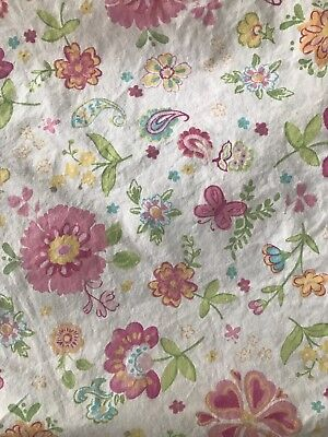 Pottery Barn Kids Garden Party fitted Crib sheet
