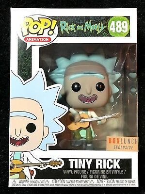 Funko Pop! Rick And Morty: Tiny Rick #489 - BoxLunch Exclusive - DBL BOXED