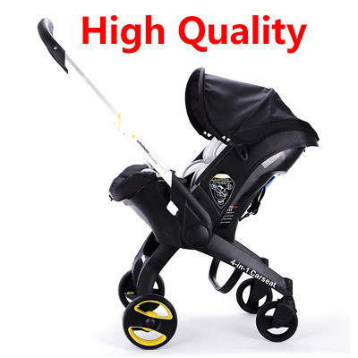Luxury Newborn Baby Trolley 3 4 in 1 Car Seat Stroller With Accesories Infant_H