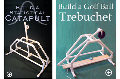 PVC Plans 2-Pack - PVC Pipe Catapult and Trebuchet Plans Step-by-Step Easy Build