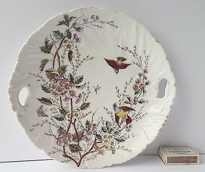 Plate/Platter/Tray, Bird, Butterfly, Flowers, around 1880–1890 L777