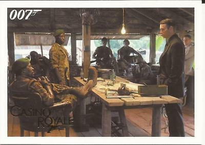 2014 James Bond Gold Parallel 007 Archives Insert Casino Royale 006 6 /125