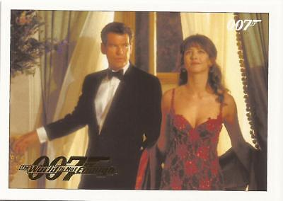 James Bond Classics Gold Parallel 007 Archives Insert World is Not Enough 26