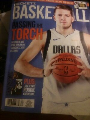 Current Beckett Basketball Price Guide Magazine February 2019 Luka Doncic cover