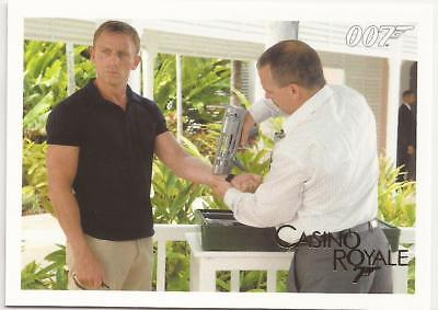2014 James Bond Gold Parallel 007 Archives Insert Casino Royale 040 40 /125