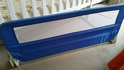Safety 1st Blue Bed Rail Safety Side Guard Adjustable Secure Lock VGC