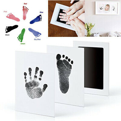 Baby Paw Print Pad Foot Photo Frame Touch Ink Pad Baby Items Souvenir Memory