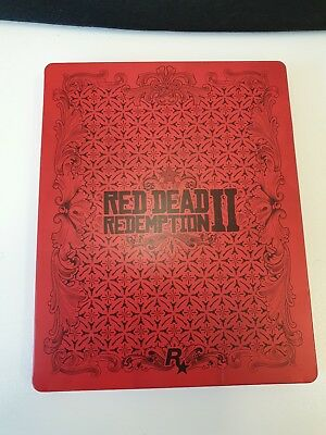 Red Dead Redemption II G2 Steelbook Case only. RARE! , COLLECTORS ,