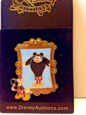 Disney Auctions Pin - Funhouse Mirror - Mickey Mouse Le 500