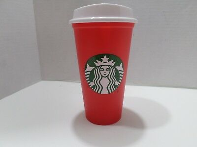 Starbucks 16 oz Grande reusable cup Christmas Holiday Limited Special Edition