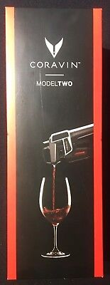 CORAVIN Model Two Wine Preservation System**NEW FACTORY SEALED**