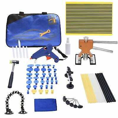 PDR Paintless Hail Removal Car Auto Repair Tools Dent Puller Lifter Glue Gun Kit