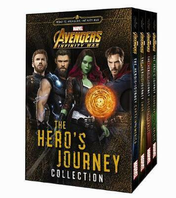 Avengers Infinity War: The Hero's Journey Collection Hardcover Book Free Shippin