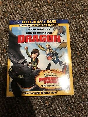How to Train Your Dragon Blu Ray (Blu-ray Only 2011)
