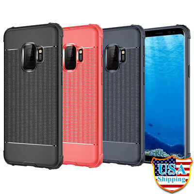 Lot 12 Case Soft Silicon TPU Shockproof Cover For Samsung Galaxy S9