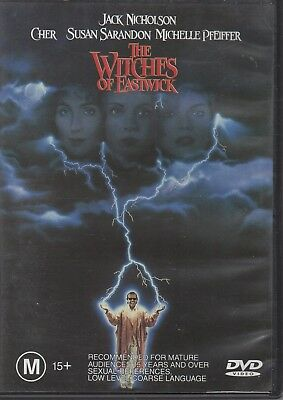 The Witches Of Eastwick (DVD, 1999) #CB4