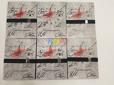 """Spectrum """"Timeless Moment"""" 2nd Mini- Autographed(Signed) Promo Album"""
