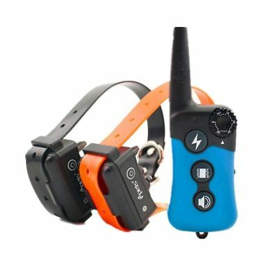 PET619 Dog Shock 330 yard  iPets Training Collar Remote Rechargeable Pet Trainer