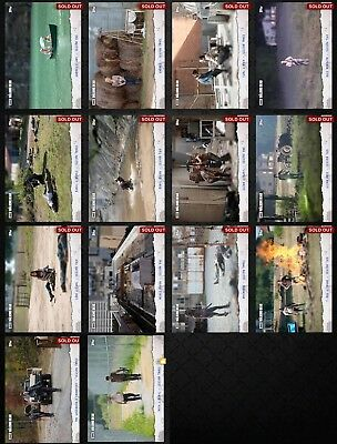 Topps Walking Dead Card Trader Perspective Set with Award (14-card lot)