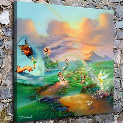 "12""x12""Disney HD Canvas prints Painting Home Decor Picture Room Wall art Poster"