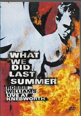 Robbie Williams - What we did last summer (2dvd)