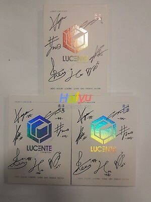 "Lucent ""The Big Dipper"" Vol.1  - Autographed(Signed) Promo CD (updated 1.19)"