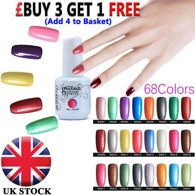 15ML GEL LAB Soak Off Gel Polish Base Top Coat UV / LED Nail Glue Manicure UK ♢