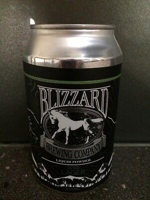 1 X 330ml Blizzard Brewing - 1550 Lager Craft Beer Can - Sticker