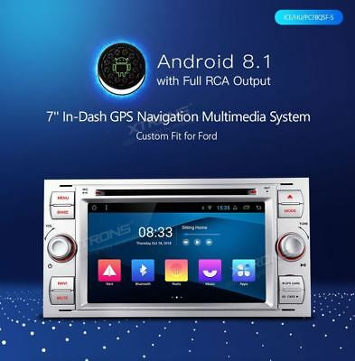 Xtrons Pc78Qsf-S Android 8.1 4Core Autoradio Gps X Ford Mondeo C-Max Focus Kuga