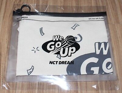 NCT DREAM We Go Up SMTOWN GIFTSHOP OFFICIAL GOODS FLAG SEALED
