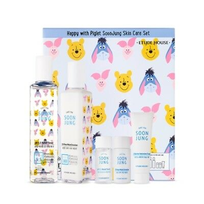 [ETUDE HOUSE] Happy With Piglet SoonJung Skin Care Set / Korean Cosmetics