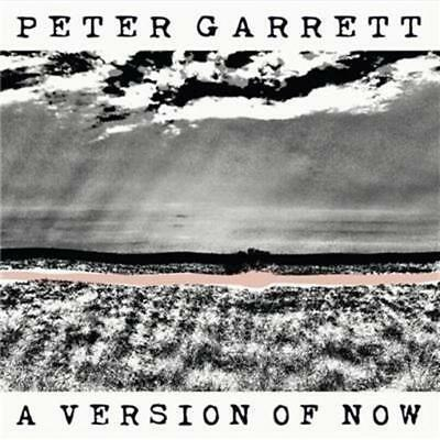 PETER GARRETT (Personally Signed by Peter) A Version Of Now CD NEW