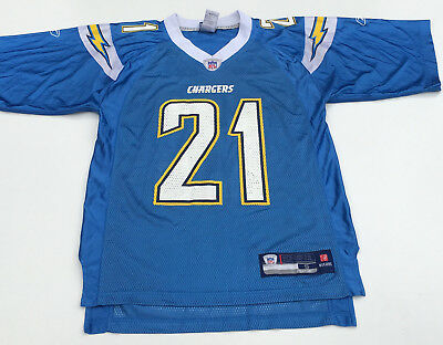 WOW San Diego Chargers Jersey NFL Grid Iron Jumper Sweater Small Tomlinson