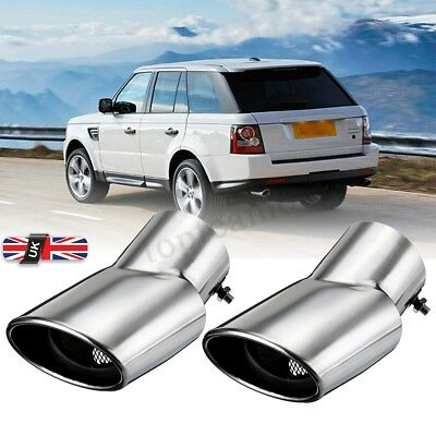Stainless Steel Exhaust Muffler Tail Pipe For Land Range Rover Sport 2002-2010