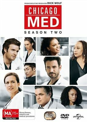 Chicago Med : C0MPLETE SERIES TWO SIX TAPES  978 MINUTES..