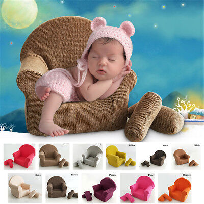 Newborn Baby Photography Photo Prop Modeling Sofa Seat Chair Studio Aid Cushions