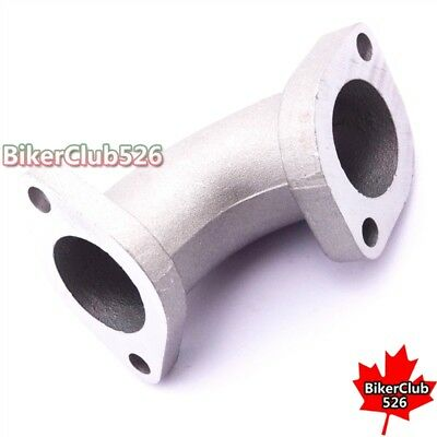 27mm 30° Engine YX-02 Intake Inlet Manifold Pipe For 125 140cc Pit Dirt MotoBike