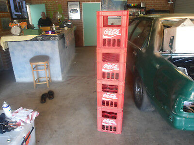 Vintage Coca Cola Large Bottles Cratesx 4 /$20 Starting Each Crate