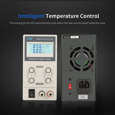 30/60V 5/10A Adjustable DC Power Supply Precision Variable Dual Digital Lab Test