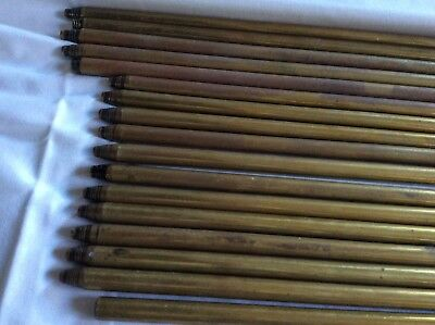 17 VINTAGE BRASS STAIR RODS 2 Sizes