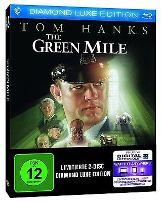THE GREEN MILE (Tom Hanks) Diamond Luxe Edition, 2 Blu-ray Discs NEU+OVP